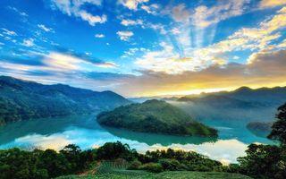 Бесплатные фото природа, лес, закат, пейзажи