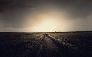 Фото бесплатно свет, дорога, небо
