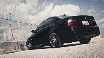 Photo free BMW 3, sedan, wheels