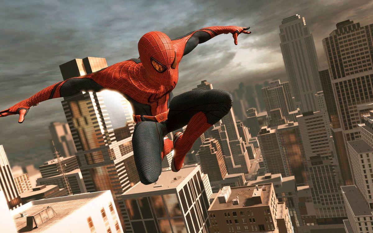 Фото бесплатно человек-паук, супергерой, костюм - на рабочий стол