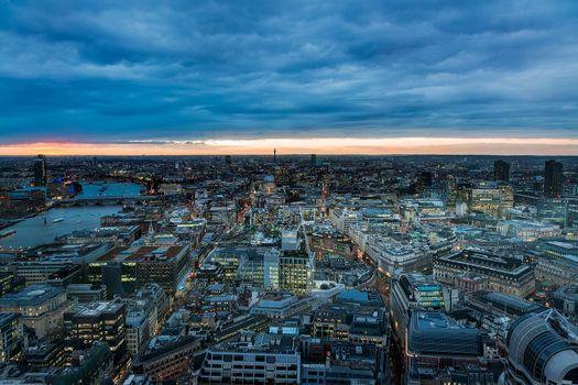 Заставки City of London, Лондон, Великобритания