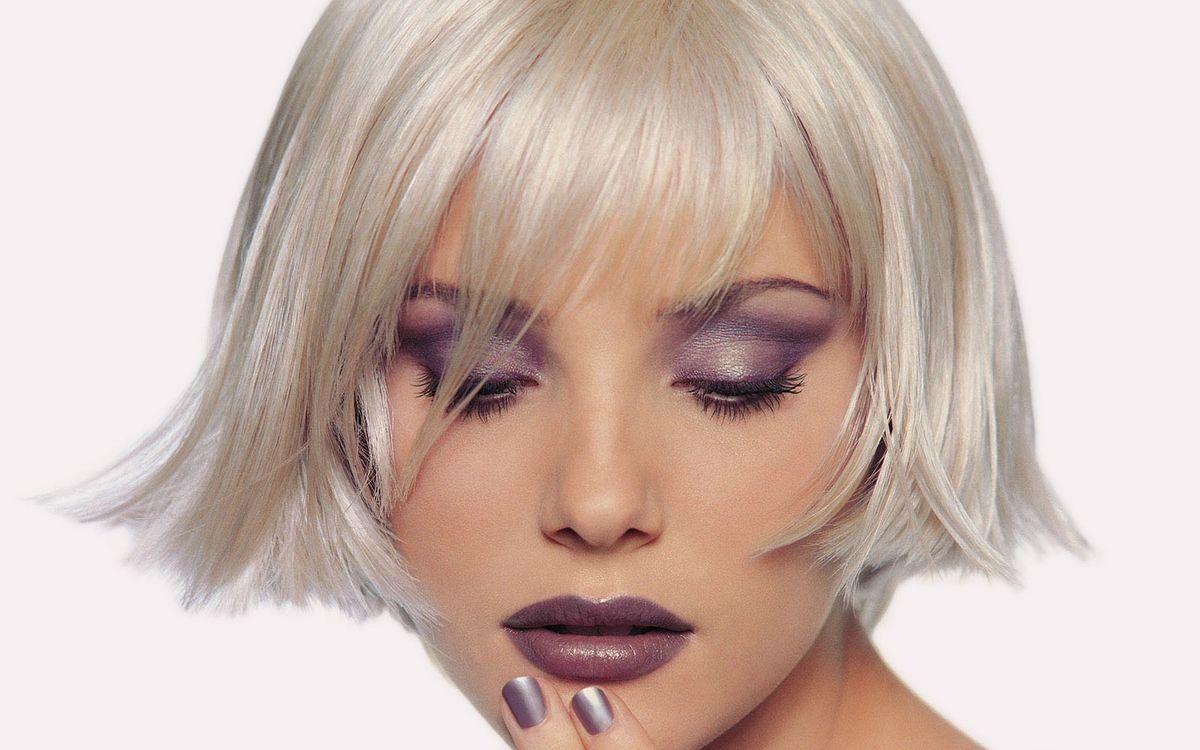 Фото бесплатно макияж, стрижка, прическа - на рабочий стол