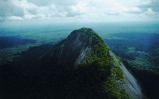 Бесплатные фото гора,рельеф,трава,деревья,облака,тучи,амазонка