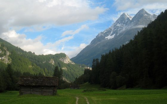 Photo free slopes, rocks, soil