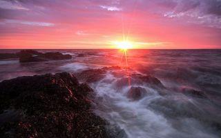 Фото бесплатно горизонт, море, пейзажи