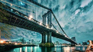 Фото бесплатно мост, вода, горизонт