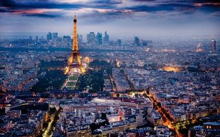 Заставки париж, франция, дома