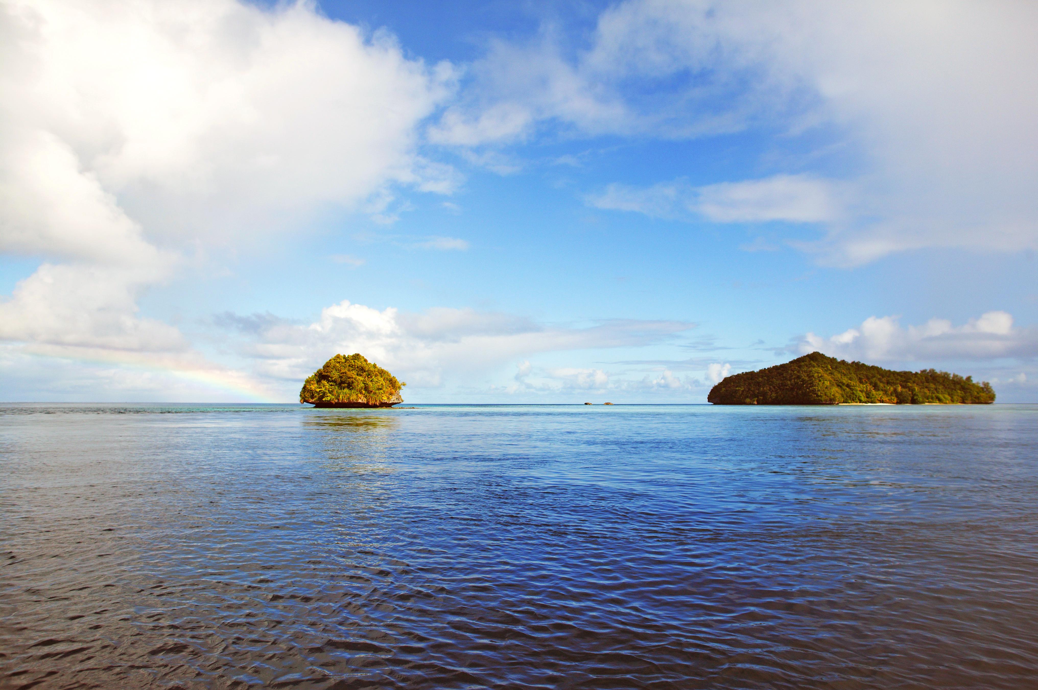 пейзаж, море, острова