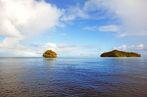 Заставки пейзаж, море, острова