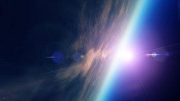 Бесплатные фото планета,земля,тучи,поверхность,свет,огни,лучи