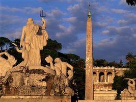 Фото бесплатно скульптуры, высокие, небо