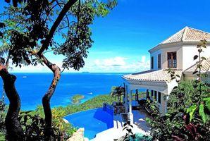 Фото бесплатно тропики, море, фазенда