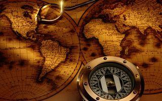 Бесплатные фото map,antique,компас,compass,карта