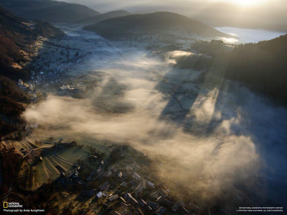 Фото бесплатно туман, national geographic, город - на рабочий стол