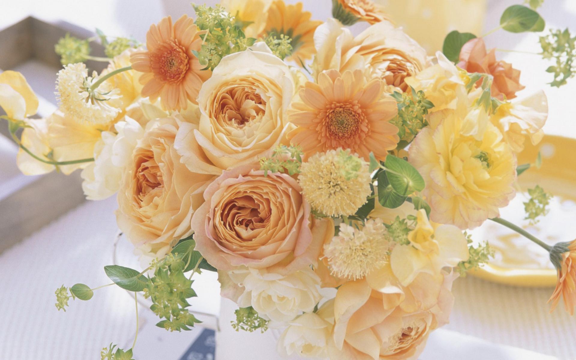 обои букет, композиция, цветы, разные картинки фото
