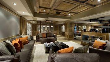 Бесплатные фото диваны,подушки,пол,зал,гостинная,потолок,стены