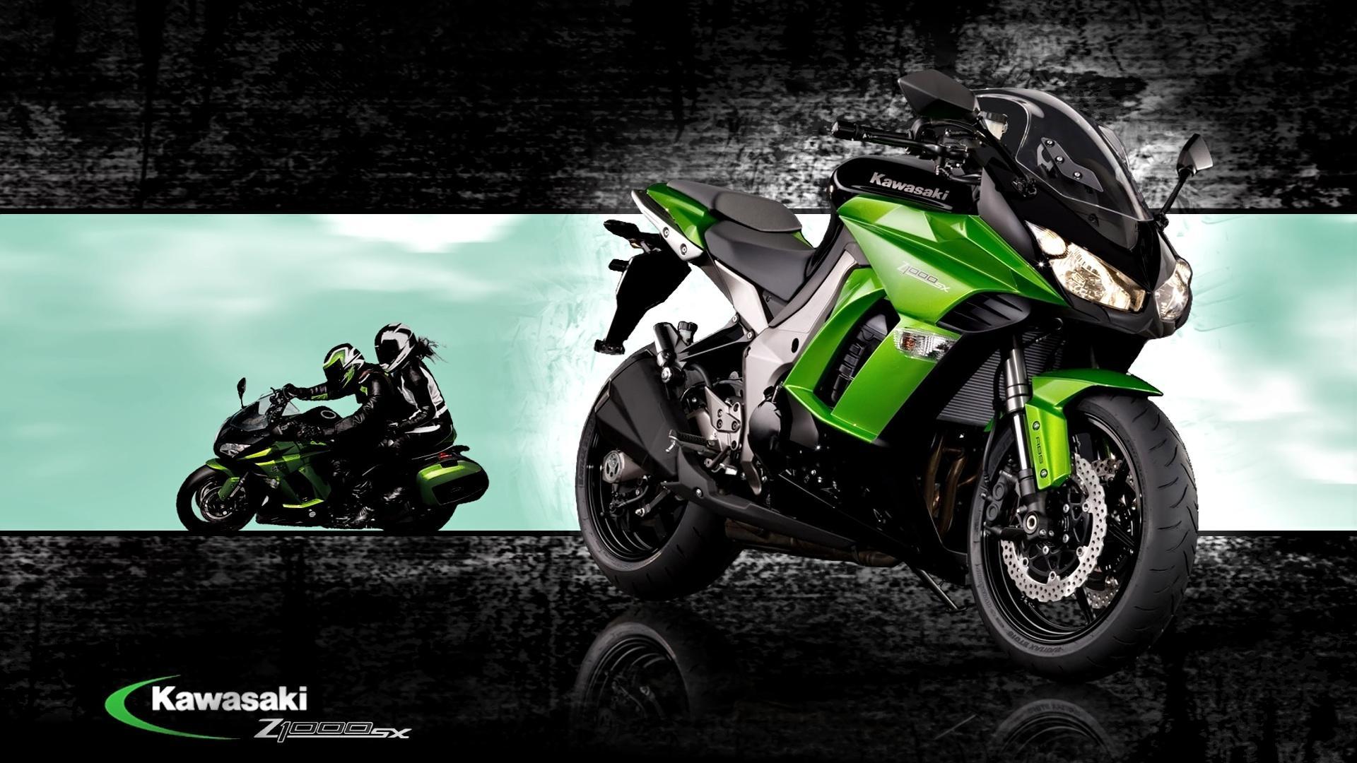 Обои спортивный, z 1000 sx, profile, Kawasaki, Мотоцикл. Мотоциклы foto 7