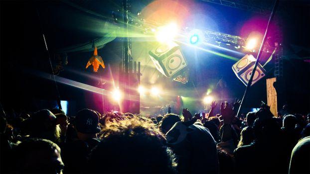 Photo free concert, disco, performance