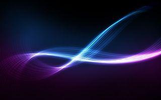 Бесплатные фото линии,разноцветные,волна,темный,фон,абстракции