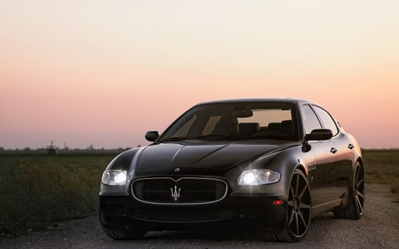 Photo free maserati, lights, xenon