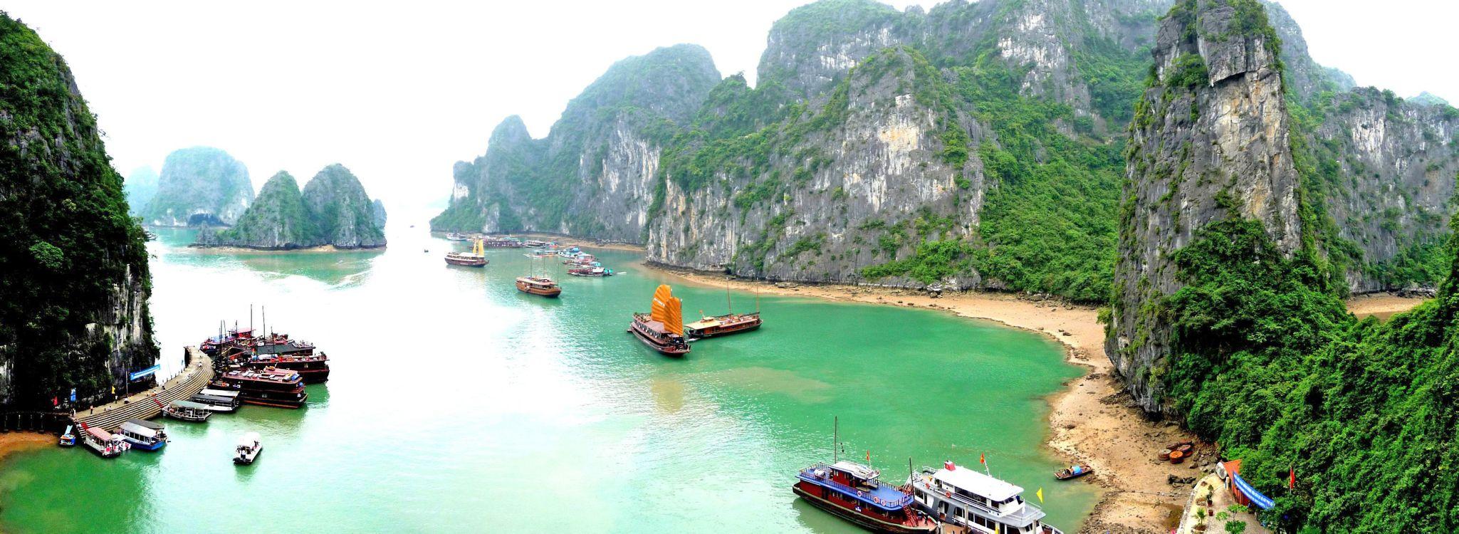 Фото бесплатно Вьетнам, тропики, пейзаж - на рабочий стол