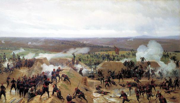 Фото бесплатно сражение, под плевной, русско-турецкая война