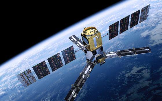 Photo free space, planet, satellite