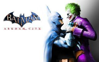 Заставки batman, arkham city, joker