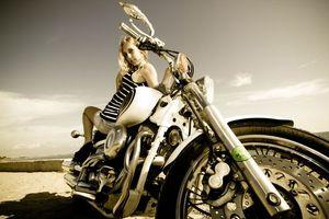 Фото бесплатно двигатель, велосипед, руль