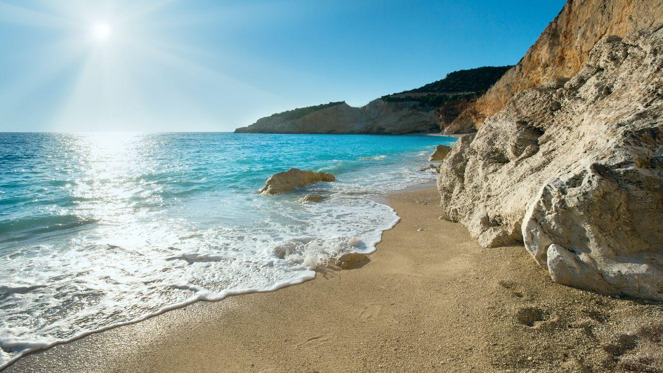Фото бесплатно природа, берег, солнце - на рабочий стол