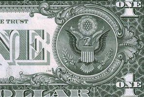 Фото бесплатно доллар, one, один, часть, купюры, валюта, сша, деньги