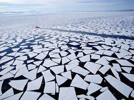 Фото бесплатно лід, корабель, пливе