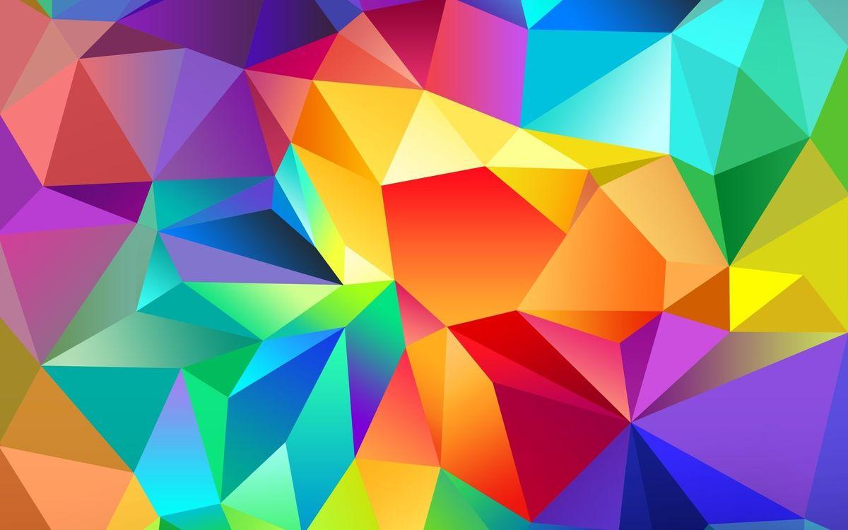 Фото бесплатно формы, фигуры, углы, линии, разноцветные, заставка, абстракции, абстракции