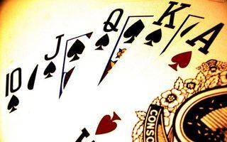 Бесплатные фото карты,покер,роял флеш,пики,обои,игры