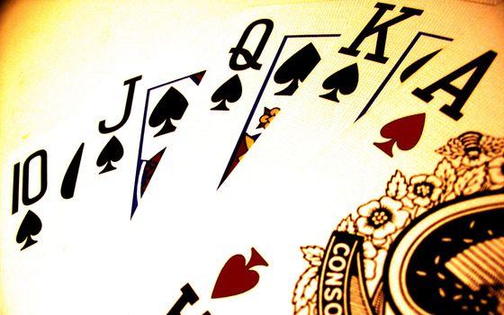 Фото бесплатно карты, покер, роял флеш