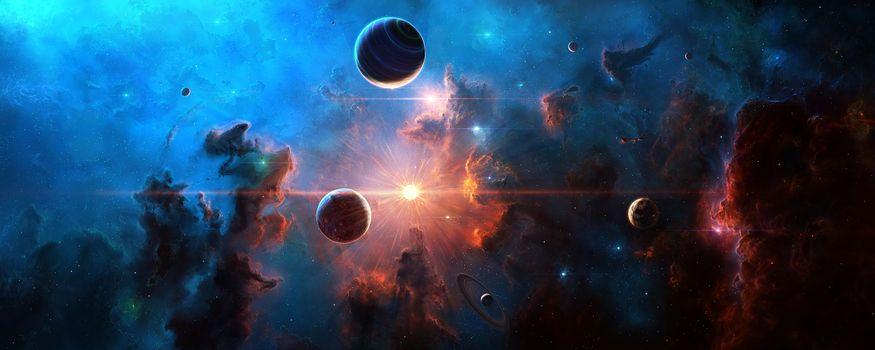 Фото космос, вселенная онлайн бесплатно