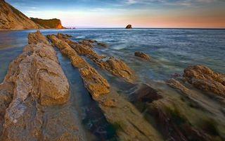 Бесплатные фото море,камни,берег,скалы,горизонт,небо,природа
