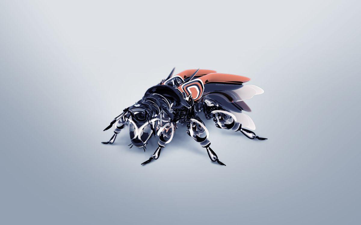 Фото бесплатно муха, робот, крылья - на рабочий стол