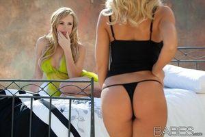 Фото бесплатно Николь Энистон, блондинка, порнозвезда
