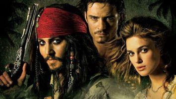 Бесплатные фото пираты,карибского,моря,капитан,джек,воробей,уилл