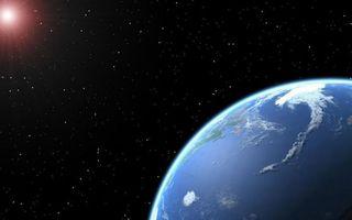 Photo free stars, earth, water