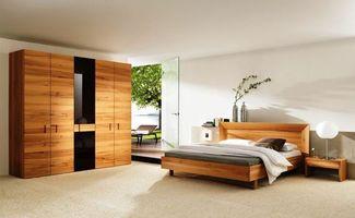 Фото бесплатно спальня, шкаф, кровать