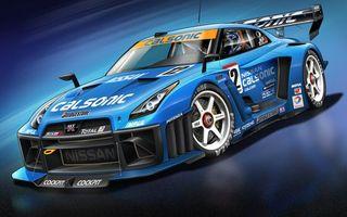 Фото бесплатно спортивная, гоночная, синяя