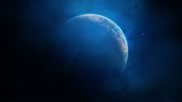 Бесплатные фото планета,газ,звезды,пыль,свечение,космос