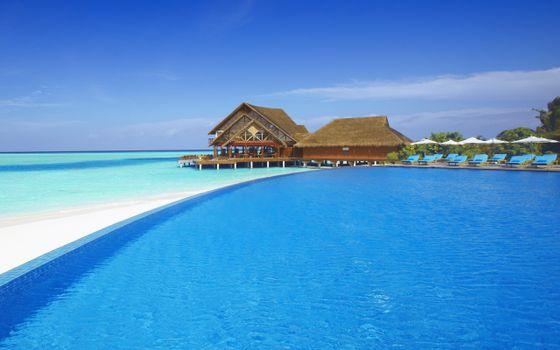 Фото бесплатно багамы, мальдивы, море