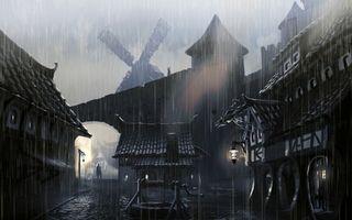 Фото бесплатно concept atr, колодец, дождь