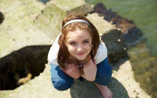 Фото бесплатно шатенка, девушка, amelie