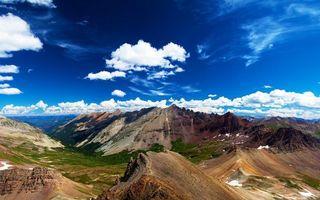 Фото бесплатно природа, горы, небо