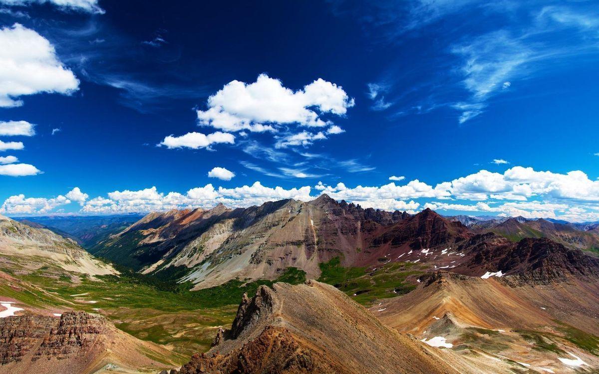 Фото бесплатно природа, горы, небо - на рабочий стол