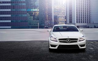 Photo free car, Mercedes, home